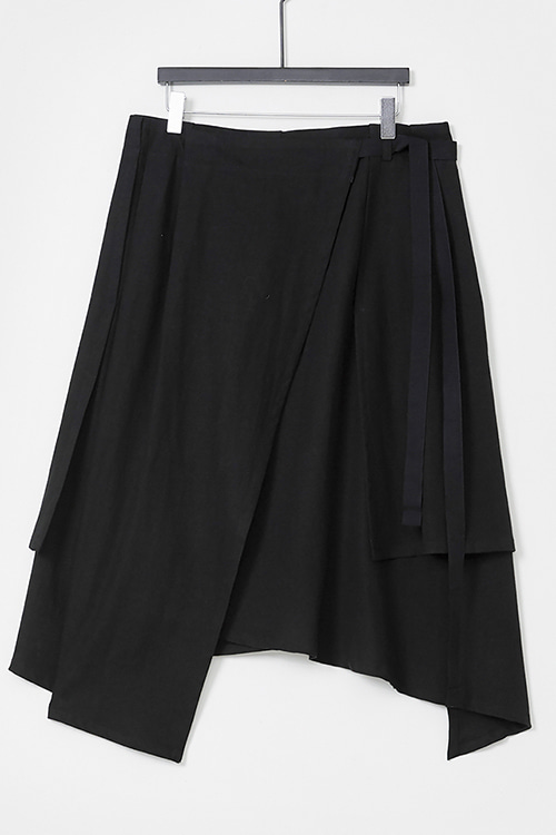 Tuck Wrap Skirt