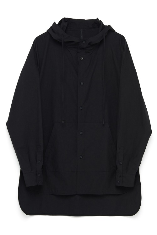 Hooded Kangaroo Pocket Shirt