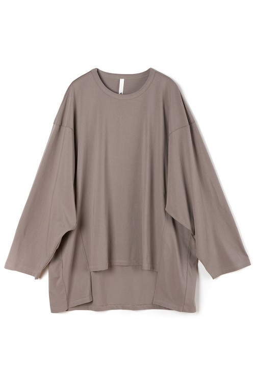 Big Square T-shirt [Beige]