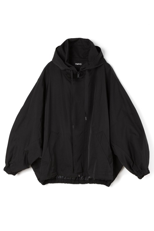 Oversized Hooded Bomber Jacket