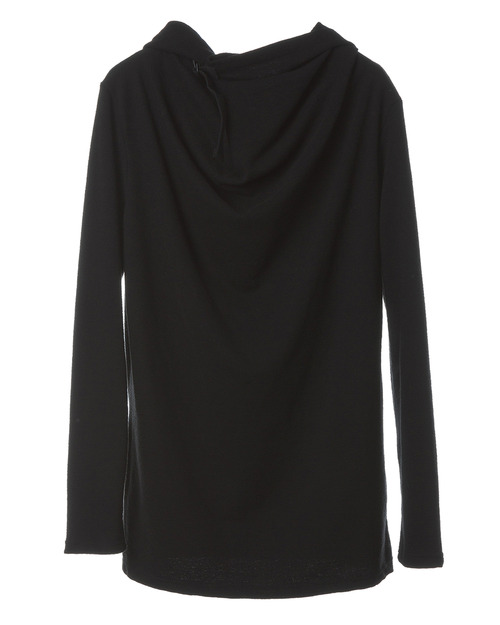 Hooded Wrap T-shirt