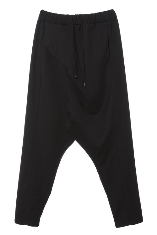 Volume Wrap Baggy Pants